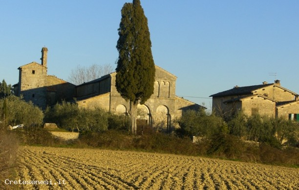 Around the church of San Giovanni in Corsano